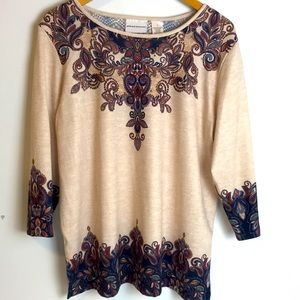 Alfred Dunner fashion top